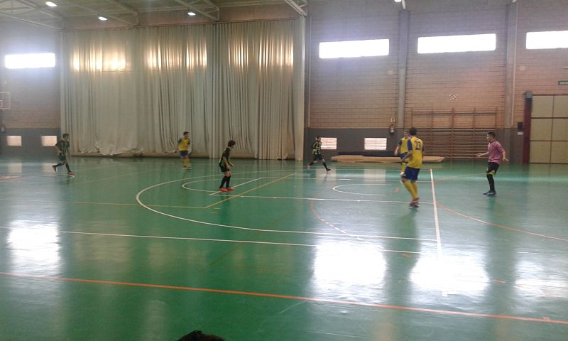 J5 Sala Arrabal vs Col. La Salle Montemolín 3-2